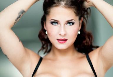Model Jane glamour fotoshoot