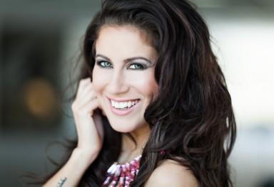 Model Mellisa Sneekes (ex miss nederland)