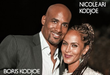Boris and Nicole Kodjoe (actors usa)